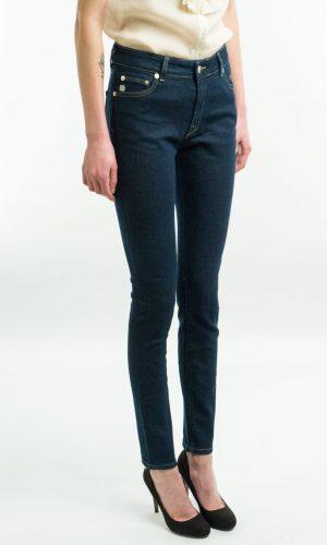 Skinny jeans – diepblauw