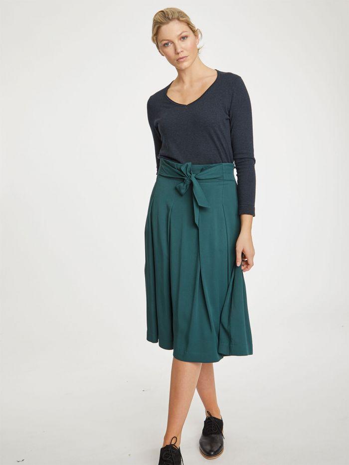wwb4395-deep-teal–kalmara-green-paper-bag-waist-modal-skirt–5