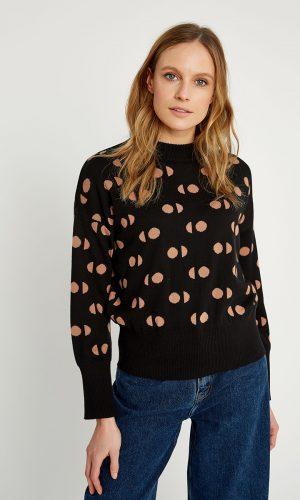 people-tree-emilia-sweater-zwart-biologisch-katoen
