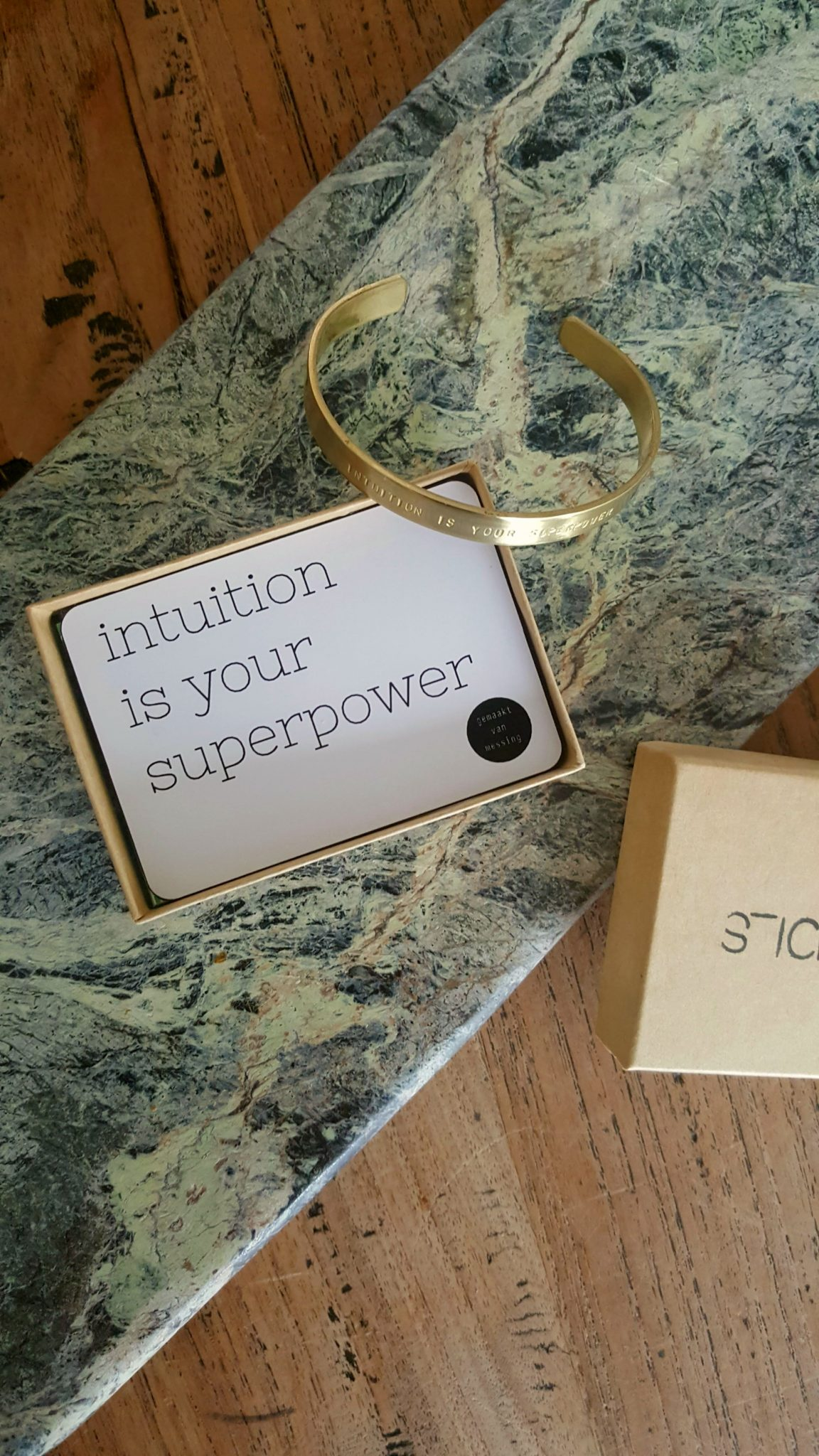 peptalk_bracelet_sticktails_intuition_is_your_superpower