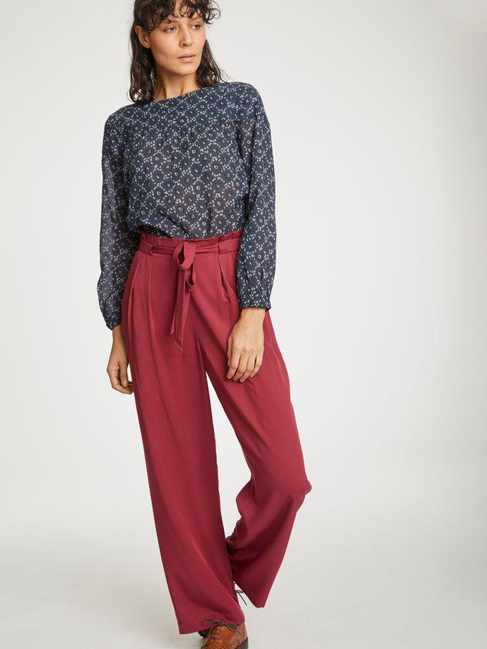 wwb4382-bilberry–red-kalmara-paper-bag-waist-modal-trousers–2