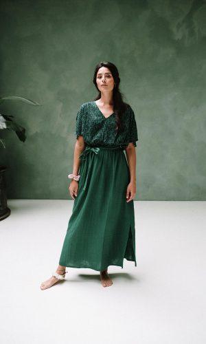 J-Lab3l-amali-combi-green-dress-biologisch-katoen