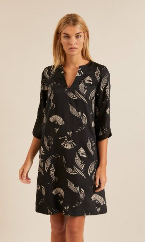 lanius-fair-fashion-oasis-midi-jurk-tencel