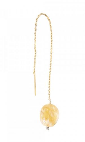 a-beautiful-story-citrine-goud-oorbel