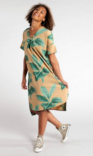 dedicated-kaftan-lysekil-khaki-leaves