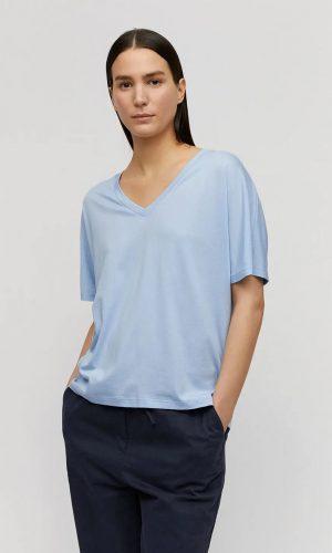 armedangels-miraa-t-shirt-pure-blue-tencel