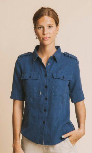 thinking-mu-kariba-blouse-blauw-hennep-biologisch-katoen