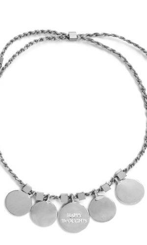 Happy Thoughts Bracelet Zilver