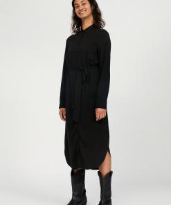 armedangels-saigaa-dress-zwart-ecovero
