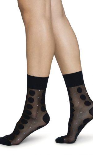 swedish-stockings-viola-dot-socks-zwart