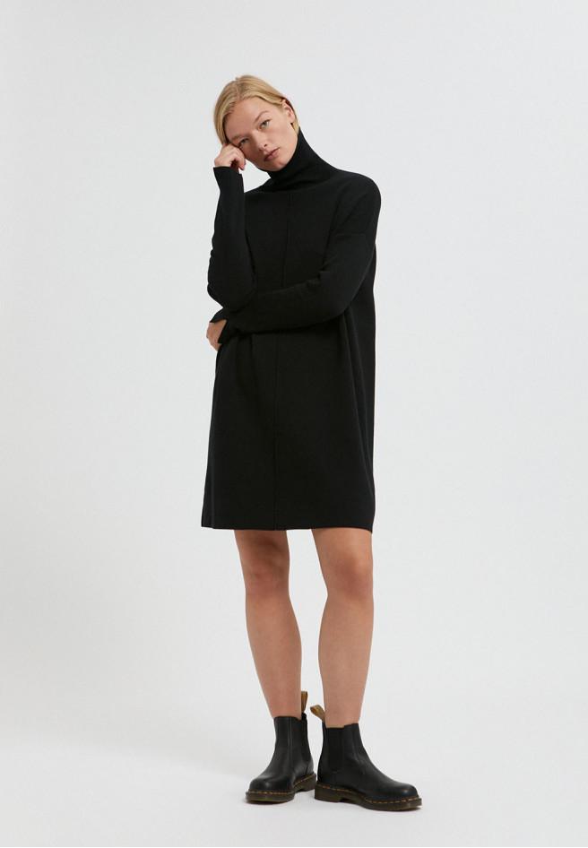 armedangels-siennaa-dress-zwart-biologisch-katoen
