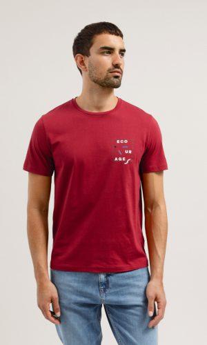 jaames-shirt-encourage-rood-biologisch-katoen