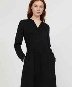 armedangels-inaari-dress-black-ecovero