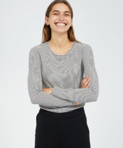 armedangels-larenaa-small-stripes-zwart-wit-tencel