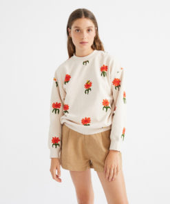 thinking-mu-carnations-sweater-biologisch-katoen