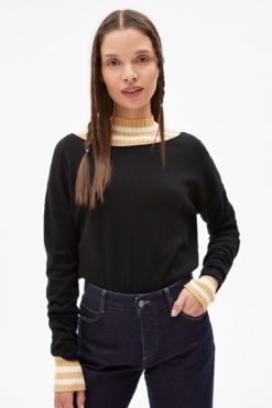 armedangels-ladaa-pullover-zwart-biologisch-katoen