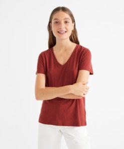 thinking-mu-clavel-t-shirt-raspberry-hennep